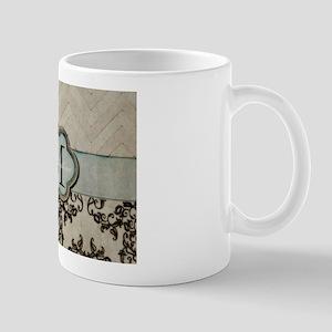 Personalize this Monogram Design Mugs