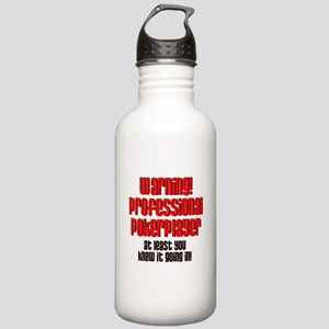 warning1 Stainless Water Bottle 1.0L