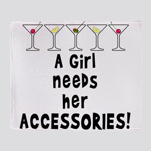 A Girl Needs Her Accessories Cocktail Art Humor Th