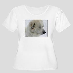 Great PyreneesWomen's Plus Size Scoop Neck T-Shirt