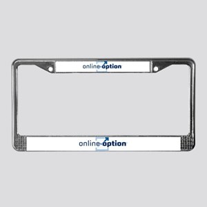 OnlineOption.com License Plate Frame