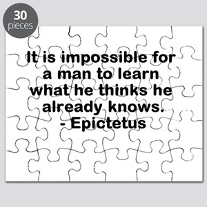 Man to Learn Puzzle