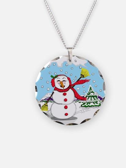 snowman-2.png Necklace