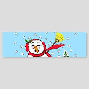 snowman-2 Bumper Sticker