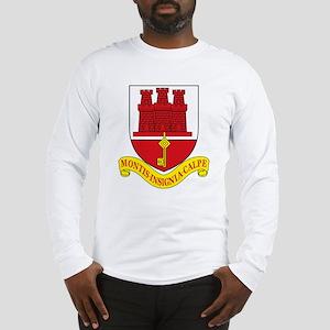 Gibraltar Coat of Arms Long Sleeve T-Shirt