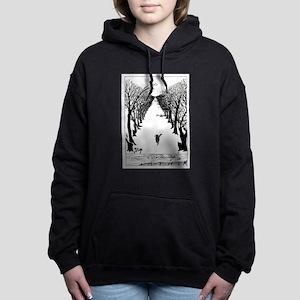 Kipling's Cat Women's Hooded Sweatshirt