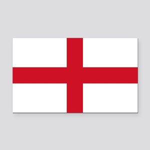 England Flag Rectangle Car Magnet