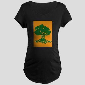 Golani-Brigade-No-Text Maternity Dark T-Shirt