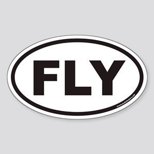 FLY Euro Oval Sticker