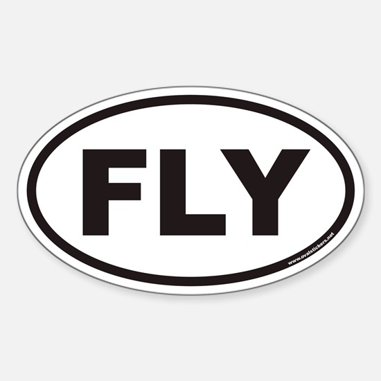 FLY Euro Oval Decal