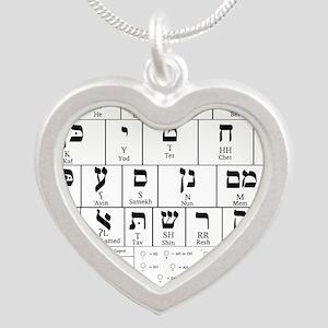 Hebrew Alphabet Necklaces