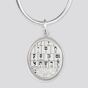 Hebrew Alphabet Necklaces