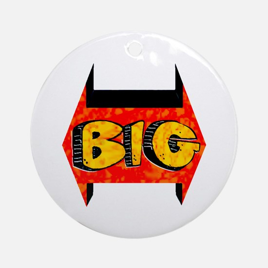 * DISCOUNTED * BIG Ornament (Round)