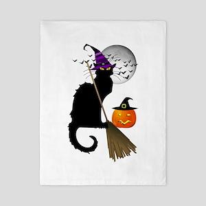 Le Chat Noir - Halloween Witch Twin Duvet