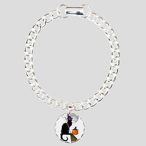 Le Chat Noir - Halloween Charm Bracelet, One Charm