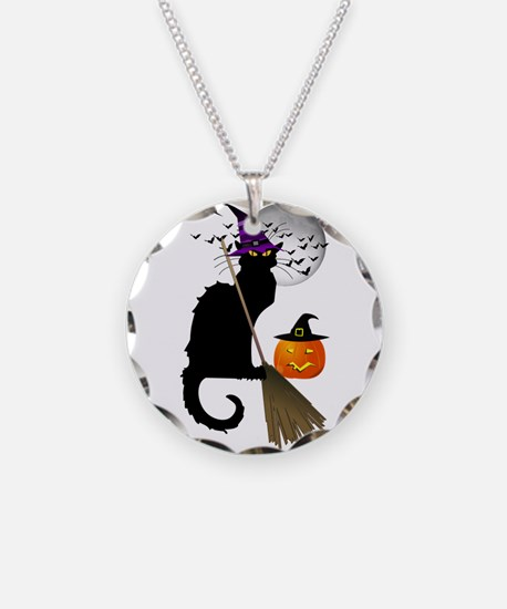 Le Chat Noir - Halloween Wit Necklace