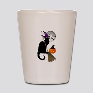 Le Chat Noir - Halloween Witch Shot Glass