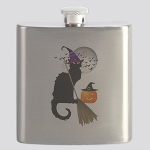 Le Chat Noir - Halloween Witch Flask