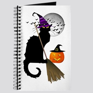 Le Chat Noir - Halloween Witch Journal