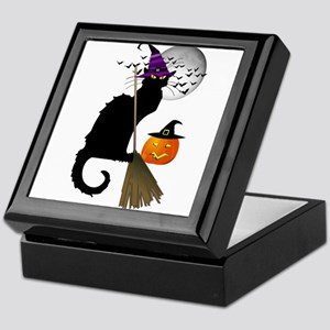 Le Chat Noir - Halloween Witch Keepsake Box
