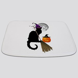 Le Chat Noir - Halloween Witch Bathmat