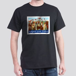 RESPECT YOUR ELDERS Dark T-Shirt