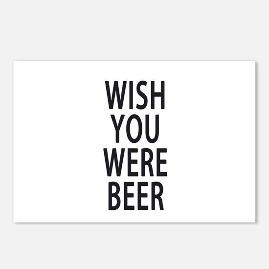 Wish You Were Beer Postcards (Package of 8)
