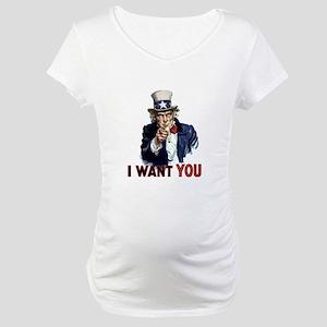 Uncle Sam Wants you Maternity T-Shirt