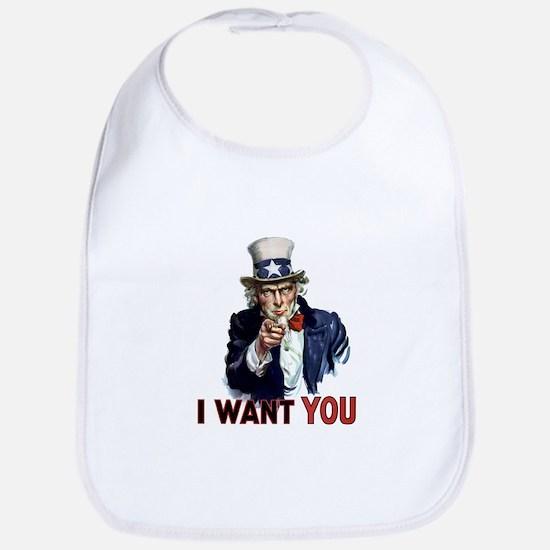 Uncle Sam Wants you Bib