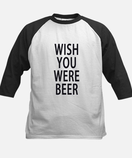 Wish You Were Beer Baseball Jersey