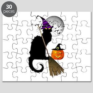 Le Chat Noir - Halloween Witch Puzzle
