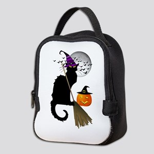 Le Chat Noir - Halloween Witch Neoprene Lunch Bag