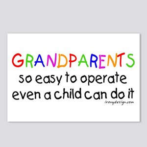 Grandparents Postcards (Package of 8)
