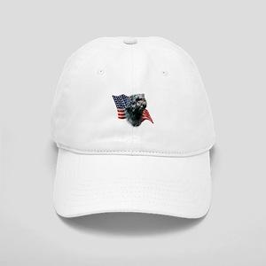 Affenpinscher Flag Cap