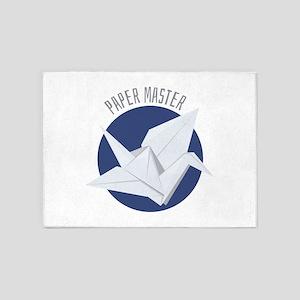 Paper Master 5'x7'Area Rug