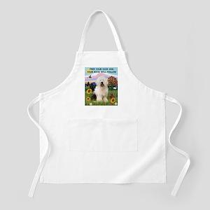 Free Your Hair & Old English Sheepdog  BBQ Apron