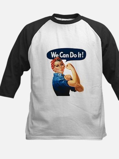 We Can Do It! Kids Baseball Jersey