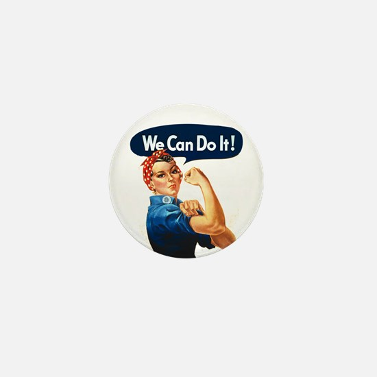 We Can Do It! Mini Button