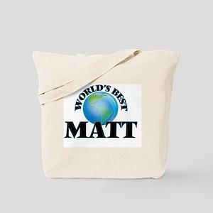 World's Best Matt Tote Bag