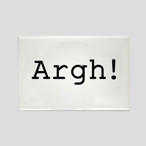 Argh! Rectangle Magnet
