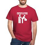 Prosecutors will be Violated Dark T-Shirt