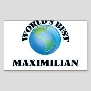 World's Best Maximilian Sticker
