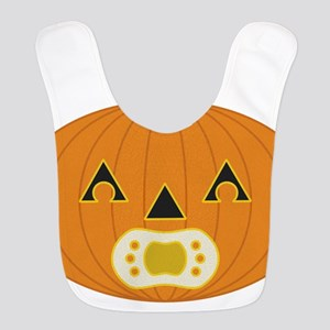 Baby pumpkin with pacifier and matching hair/stem