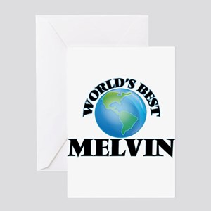 World's Best Melvin Greeting Cards