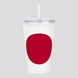 Japan Flag Acrylic Double-wall Tumbler