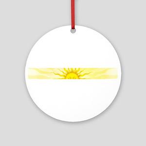 sun Ornament (Round)