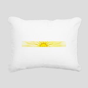 sun Rectangular Canvas Pillow