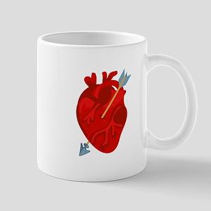 Heart Arrow Mugs