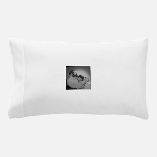 bear cat Pillow Case