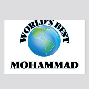 World's Best Mohammad Postcards (Package of 8)